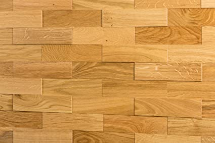 Wodewa Paneles De Madera Para Pared Roble Natural I 1m2 - Revestimiento-de-madera-para-paredes-interiores