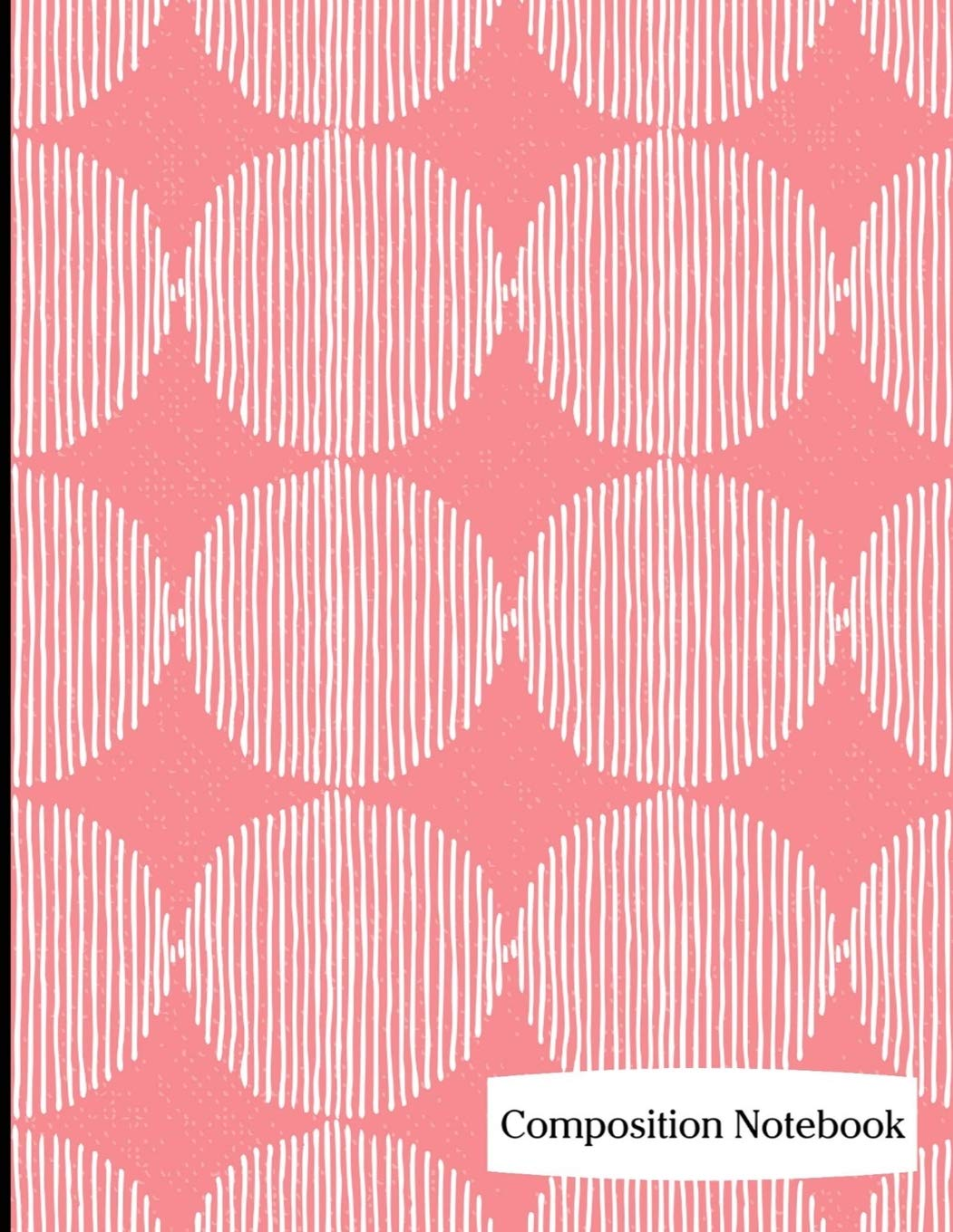 """Read Online Composition Notebook: Red Circle and Lines Pattern Composition Notebook - 8.5"""" x 11"""" - 200 pages (100 sheets) College Ruled Lined Paper. Glossy Cover. ebook"""