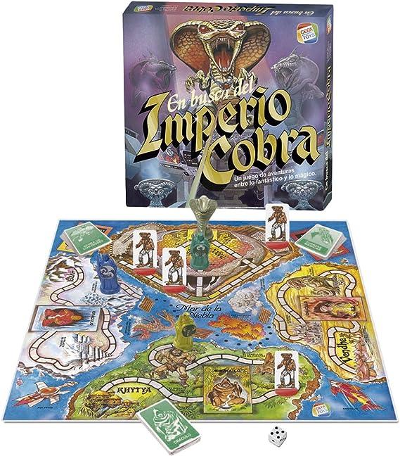 CEFA Toys - En busca del Imperio Cobra Vintage (Juego de mesa ...