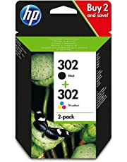HP 302 - Pack de 2 cartuchos de tinta negro y tri-color