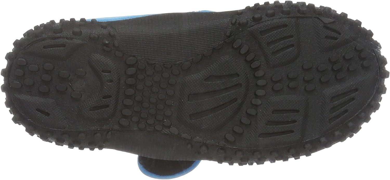 Badeschuhe Neonfarben mit UV-Schutz Aqua Schuhe Playshoes Unisex-Kinder Aquaschuhe