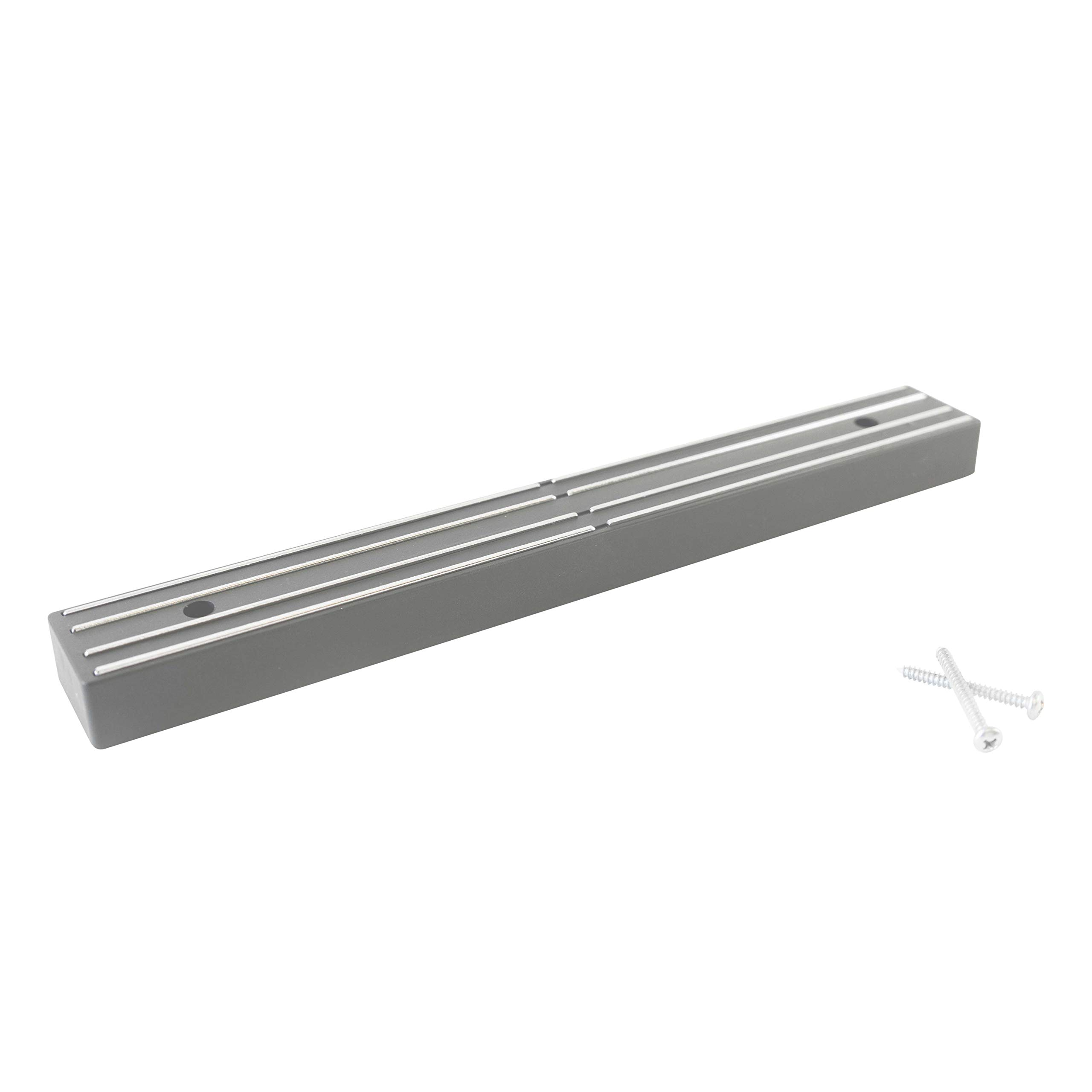 Master Magnetics 07578 Magnetic Tool Holder with Screw Mount, 12'' Wide, 30 lb per inch, Gray