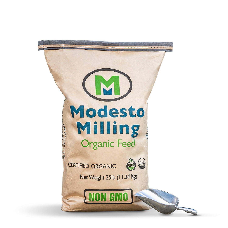 Modesto Milling Organic Horse Plus Textured Feed Blend 25 lbs; Item# 673