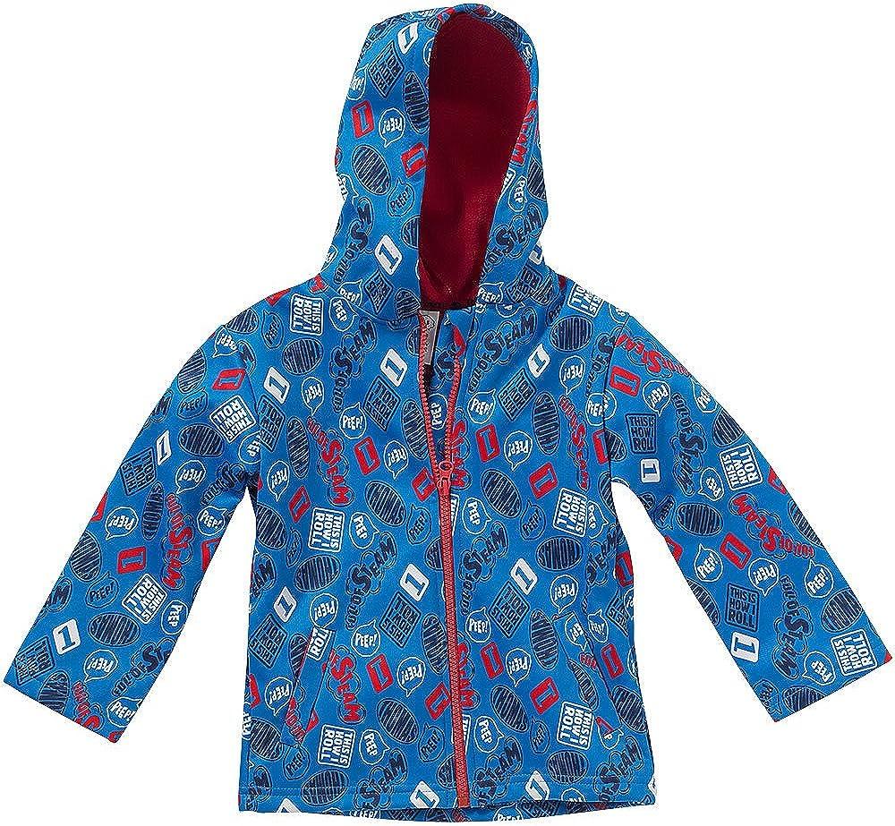 Thomas /& Friends Boys Printed Jacket Coat Hooded Softshell Fleece Lined