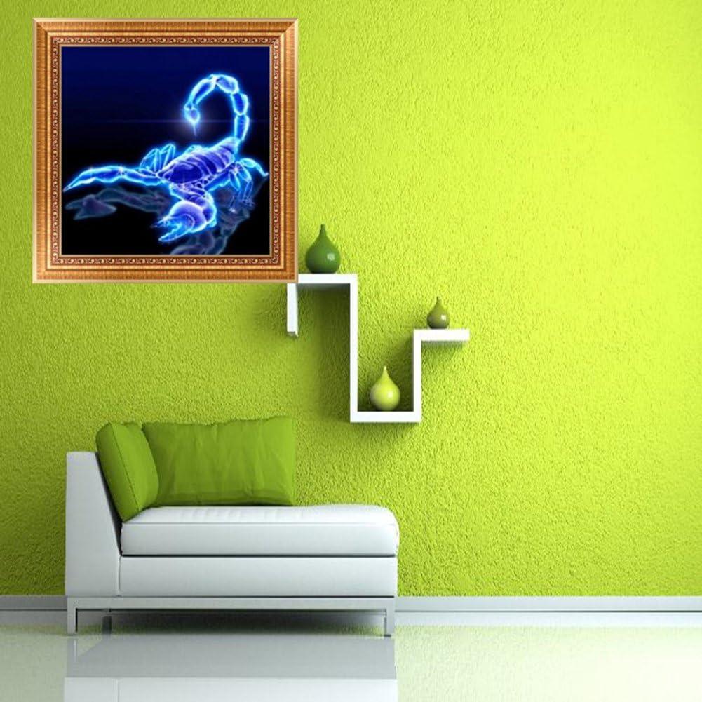 La Cabina Diff/érentes dessins 5D Diamond DIY Painting Crafts Set Int/érieur Scorpion