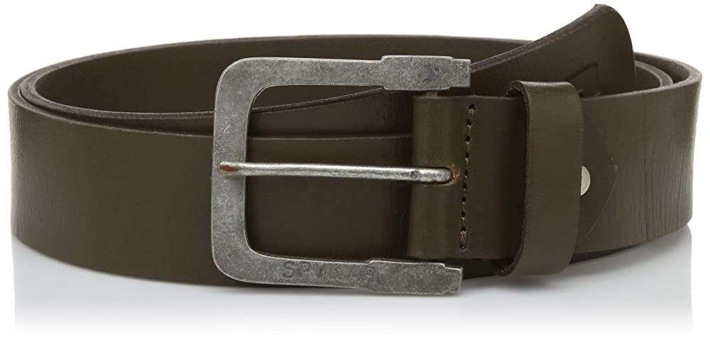 Spyker mens leather belt up to 75 % off at Amazon