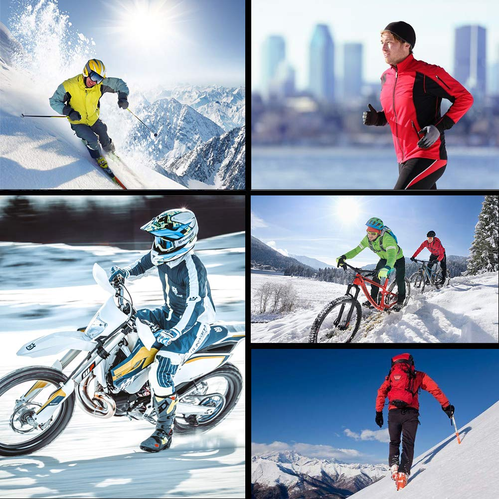 MEETYOO Thermo Jacke Herren Fahrradjacke Atmungsaktiv Softshelljacken M/änner Windjacken f/ür Radsport Mountainbike Winter