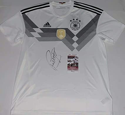 4ed82ee15d6 Autographed Bastian Schweinsteiger Jersey - Adidas Germany 2014 World Cup -  JSA Certified - Autographed Soccer Jerseys at Amazon s Sports Collectibles  Store