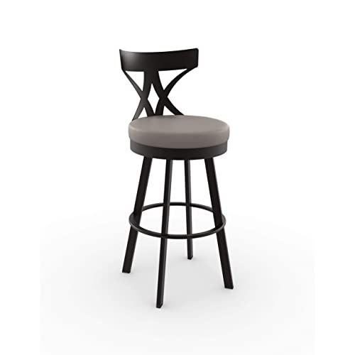 Amisco Washington Swivel Counter Stool
