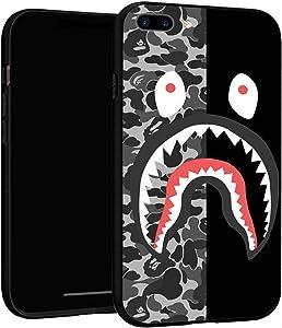 iPhone 7 Plus Case 8 Plus Case,Case Cover for iPhone 7P/8P (Bape-Shark)
