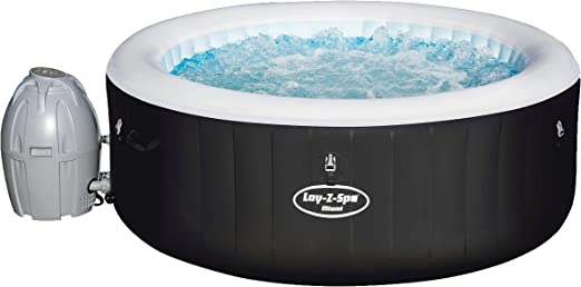 Bestway Lay-Z-SPA Jacuzzi Hinchable Miami AirJet para hasta 4 ...