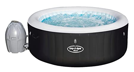 Bestway SPA Hinchable Lay- Z-SPA Miami para 2-4 Personas: Amazon ...