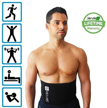 78fe3609e4 Slender 8 Waist Trimmer Belt - Waist Slimmer For Men and Women - Support  Your Lower