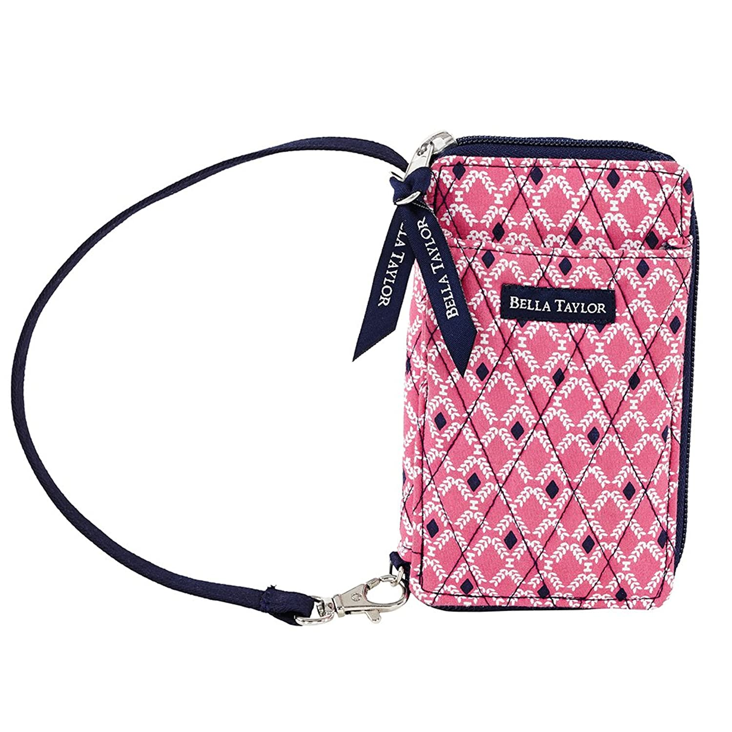 Carlisle Quilted Cotton Wristlet Wallet
