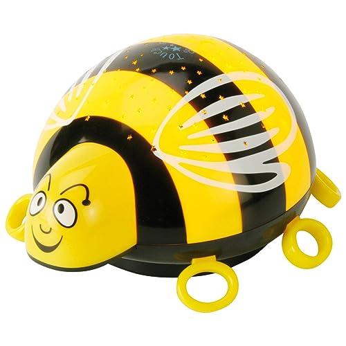 ANSMANN Sternenlicht Biene LED Sternenhimmel-Projektor Nachtlicht Lampe Einschlafhilfe für Baby/Kinder/Erwachsene