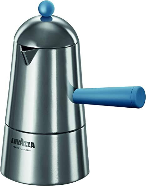 ILSA Lavazza Carmencita Pop - Cafetera de inducción de aluminio, color azul, 2/3/6 tazas: Amazon.es: Hogar