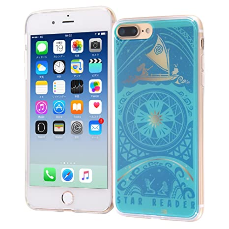e04ccbae45 Amazon   iPhone 7 Plus ケース モアナと伝説の海 / TPUケース + 背面 ...