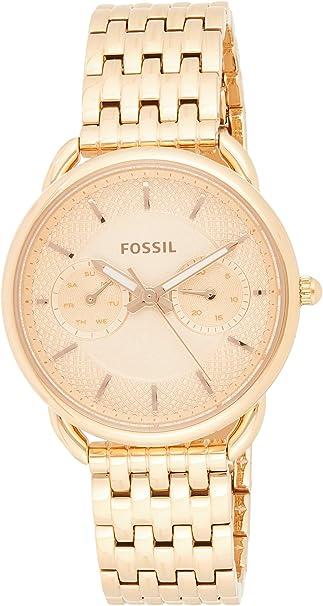 Fossil Multifunktionsuhr, »Tailor, ES3713 gold, Größe
