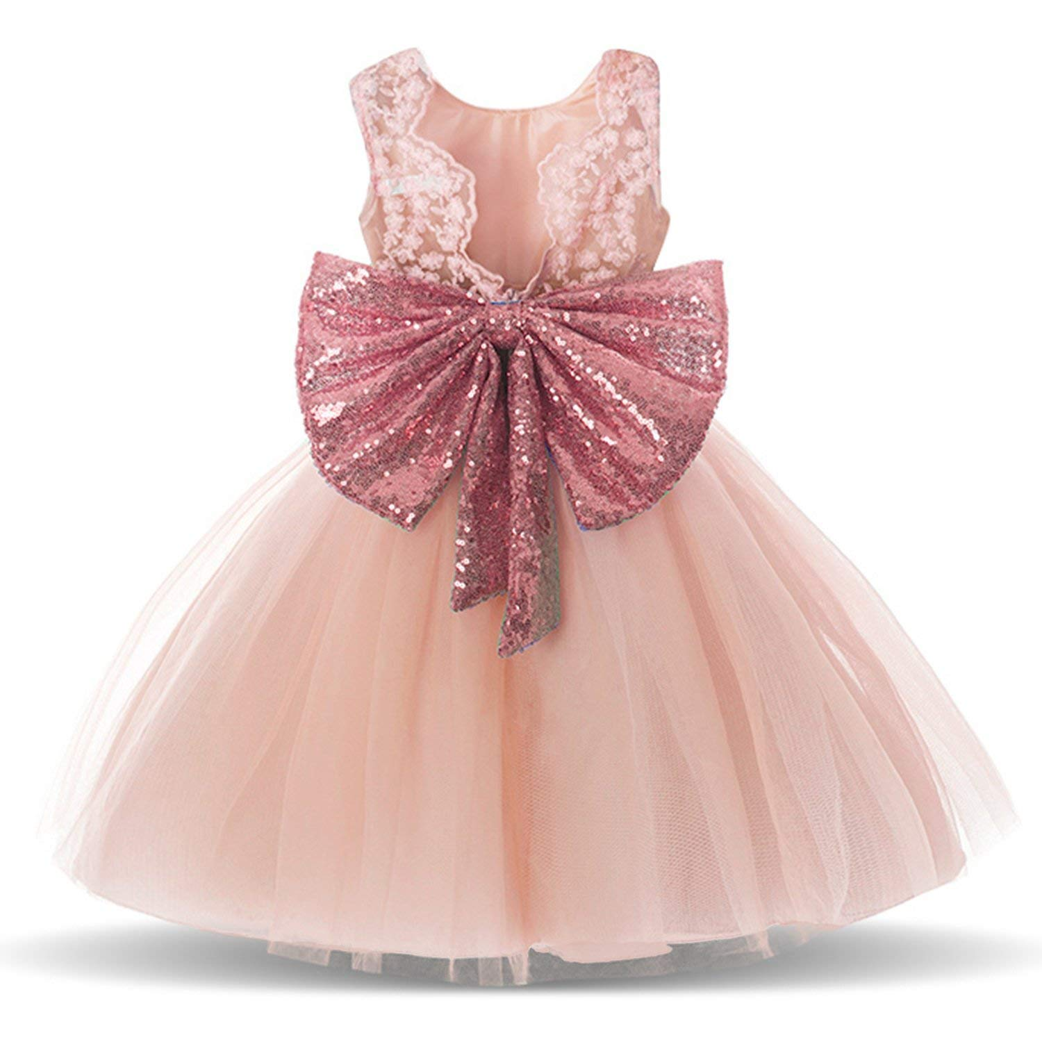 3fb1a3907 Prom Gold and Pink Dresses Backless Sequin Tulle Tutu Pageant Party ...