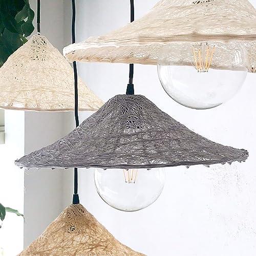Lámpara de Techo Escandinava Nordica Iluminación Artesanal ...