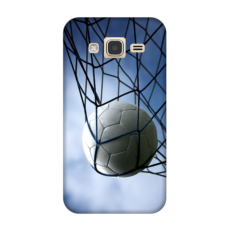 Carcasa Samsung Galaxy J3/J3 (2016) balón fútbol: Amazon.es ...