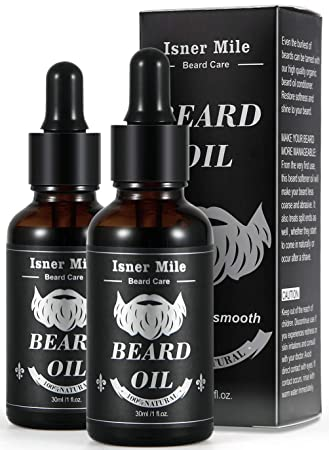 Mejor Elección 2 Paquetes Ricino Aceite de Barba para Hombres ...