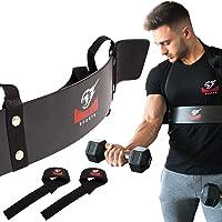 Premium Arm Blaster + BONUS Premium Lifting Straps