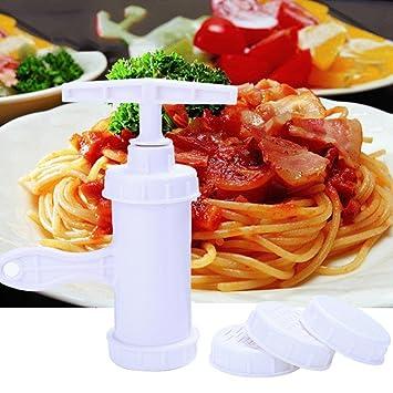 Máquina para hacer pasta – Pasta Noodle Spaghetti Maker – DIY Noodles Maker Slicer – Máquina