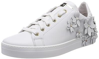 Stokton Sneaker, Sneakers Basses Femme, Multicolore (Silver/Blu/Gold), 41 EU