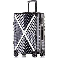 ボンイージ(bonyage) スーツケース ファスナー式 超軽量 TSAロック付 8輪 多段階調節 機内持込 旅行出張 1年保証