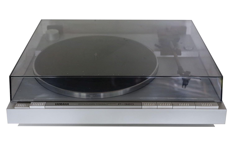 Yamaha P de 320 - Tocadiscos automático en plata: Amazon.es ...