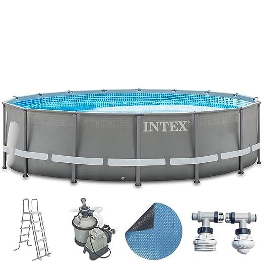 Intex Premium de Pool Juego completo 488 x 122 cm con filtro ...