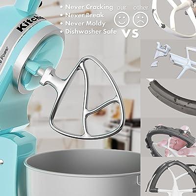 Buy Stainless Steel Flat Beater For Kitchen Aid 4 5 5qt Tilt Head Stand Mixer Hand Polished Paddle Attachment No Coating Dishwasher Safe Fits Models K455s Ksm75 Ksm90 Ksm95 Ksm103 Ksm110 Online In Turkey B08rdm7qmz