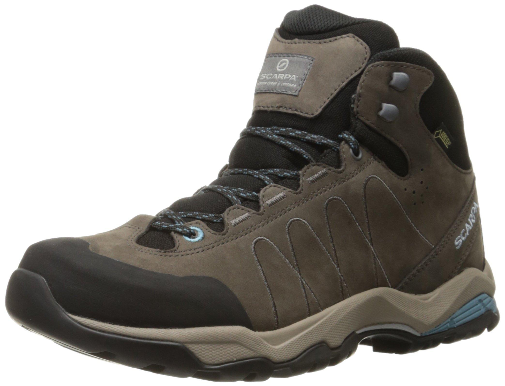 Scarpa Women's Moraine Plus Mid GTX WMN Hiking Boot, Charcoal/Air, 39 EU/7.5 M US
