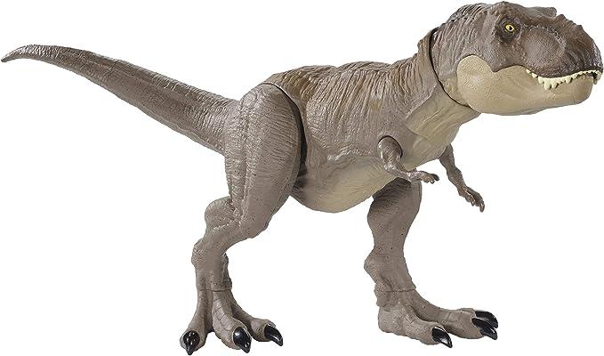 Amazon.com: Jurassic World Legacy Collection Extreme Chompin' Tyrannosaurus Rex: Toys & Games