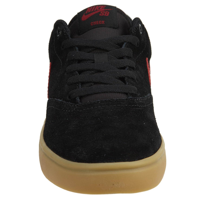 separation shoes be267 bb4fd ... good zapatillas de skate solar nike sb check para hombre nike black  team red gum marrón