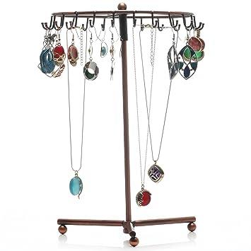8bd795b91d9 Readaeer Porte bijoux Support   Organisateur rotatif pour bijoux   boucles  d oreilles   colliers