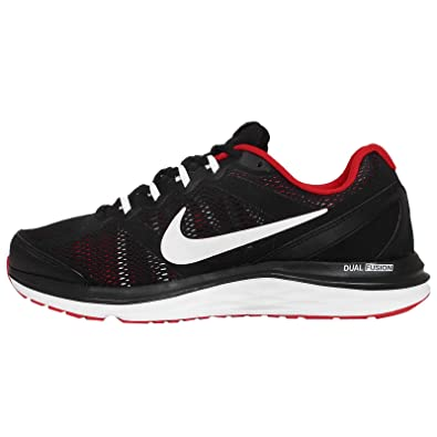 849edcb873c27 Nike Mens Dual Fusion Run3 Running Shoes Black White UK 6 (40)  Amazon.co.uk   Shoes   Bags