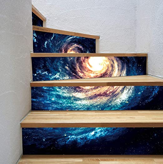Planet 18 * 100 cm 13 unids DIY creativo cascada etiqueta de ...