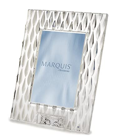 Amazoncom Marquis By Waterford Rainfall 5x7 Frame 5 X 7 Clear