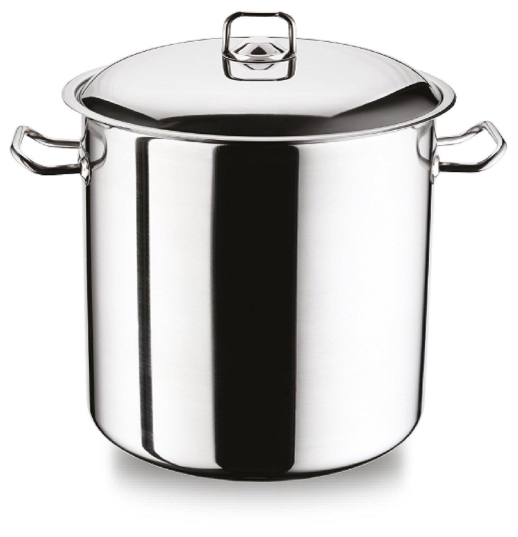 Deep Large StainlessSteel Casserole Cook Stockpot Saucepan Soup Stew Pot 7 L