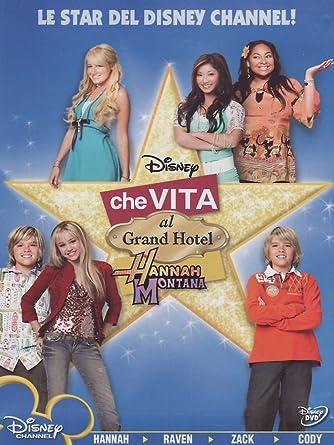 Amazon Com Hannah Montana Che Vita Al Grand Hotel Dvd Italian Import Miley Cyrus Cole Sprouse Vari Movies Tv