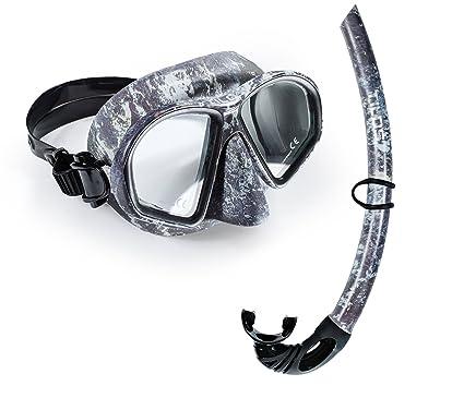 Amazon com : Tilos Spawn Camo Mask Snorkel Set for