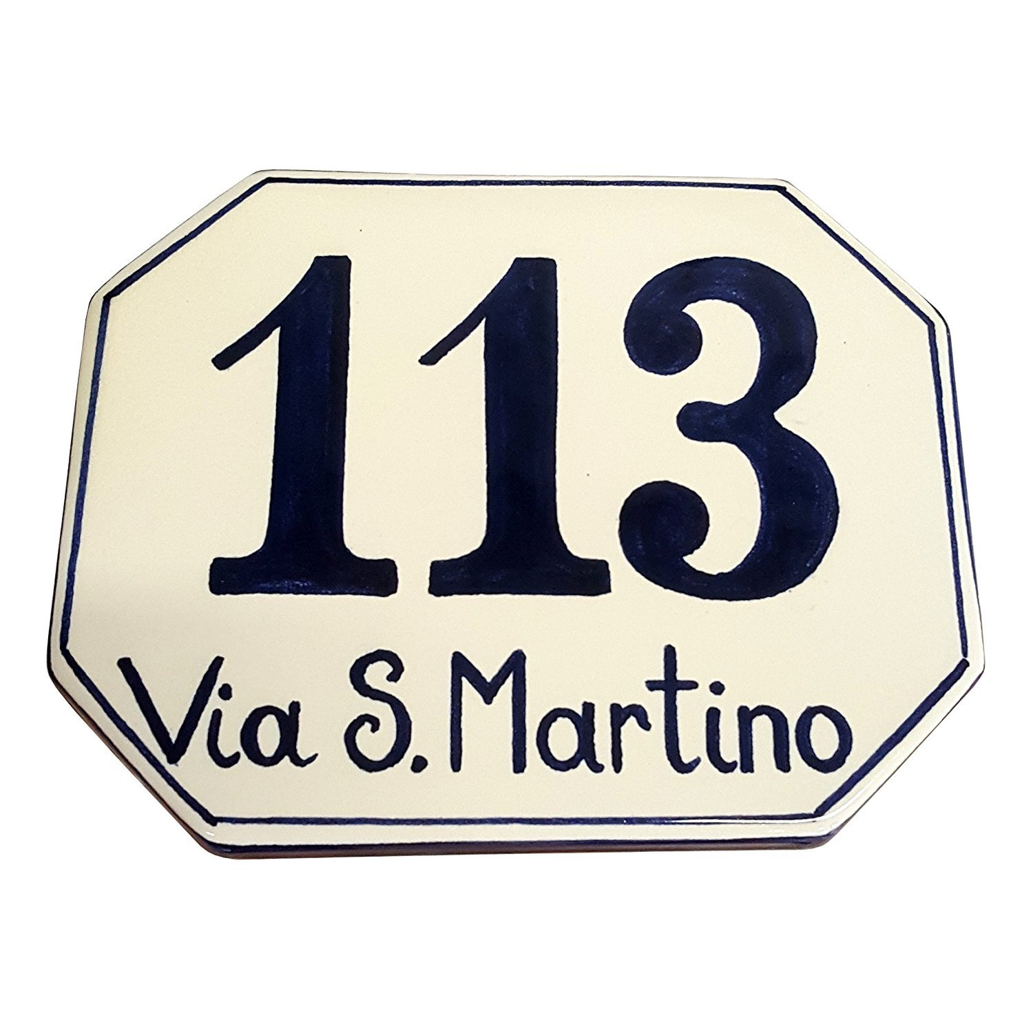 Amazon ceramiche darte parrini italian ceramic art pottery amazon ceramiche darte parrini italian ceramic art pottery tile custom house number civic address plaques decorated blue hand painted made in italy dailygadgetfo Choice Image