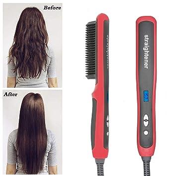 Amazon.com: Cepillo alisador de pelo mejorado por CUNDAI ...