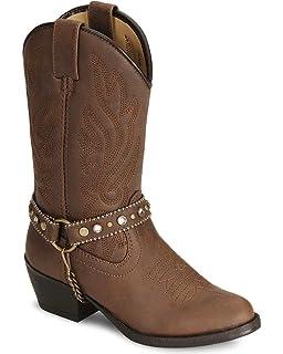 87de8b93bde Amazon.com: Smoky Mountain Western Boots Girls Mesquite 6.5 Infant ...