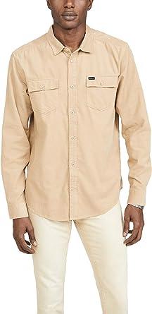 RVCA Freeman - Camisa de Manga Larga de Pana para Hombre: Amazon.es: Ropa y accesorios