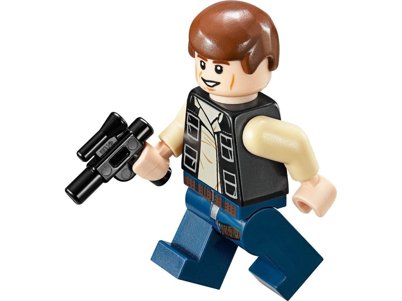 entrega rápida LEGO Star Wars Minifigure Han Solo with Blaster Blaster Blaster Mos Eisley Cantina (75052)  grandes ofertas