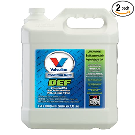 Diesel Exhaust Fluid >> Valvoline Premium Blue Diesel Exhaust Fluid 2 5gal Case Of 2 729566 2pk