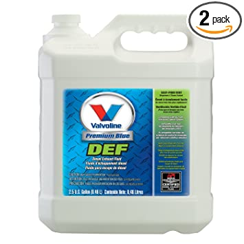 Diesel Exhaust Fluid >> Amazon Com Valvoline Premium Blue Diesel Exhaust Fluid 2 5gal